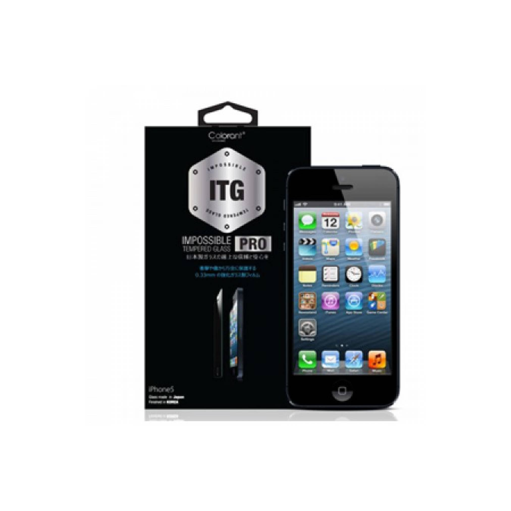 Colorant iPhone 5S USG ITG Pro - Glass Clear [Packing Rusak]