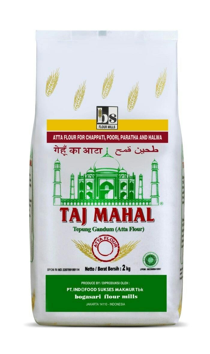 TAJ MAHAL Tepung Gandum (Atta Flour) 2Kg