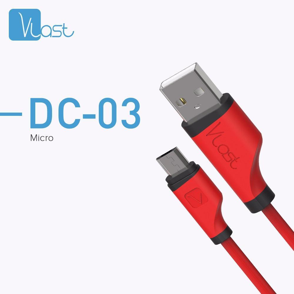 Hippo Vlast DC-03 Micro USB Kabel Data Charger 100cm