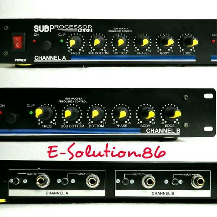 SALE - Subwoofer Processor Plus SAVE Subwoofer frequency Control Audio Sound