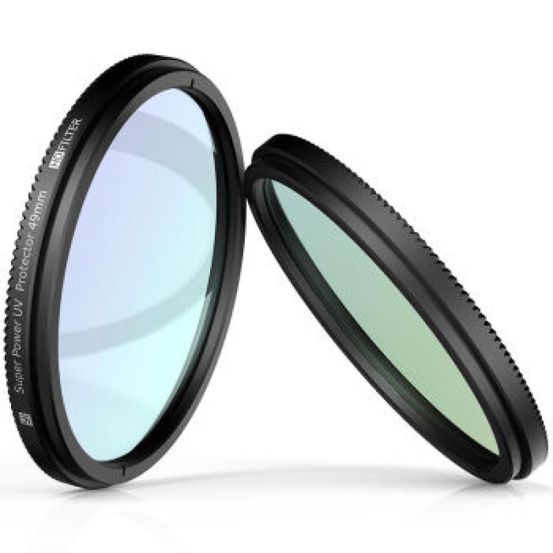 UV Filter Lens 49mm for Xiaomi M1 Mirrorless Camera / Kaca Lensa Kamera Terbaru Murah