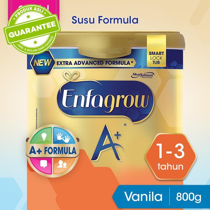 Enfagrow A+ 3 Susu Formula Pertumbuhan Batita - Vanila- 800g