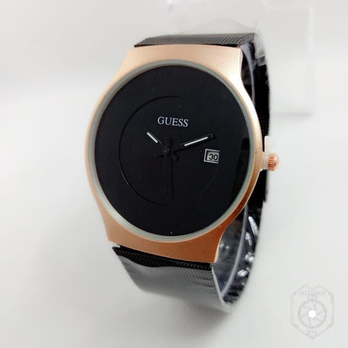 Jam tangan untuk wanita Guess tali pasir Diameter 4cm