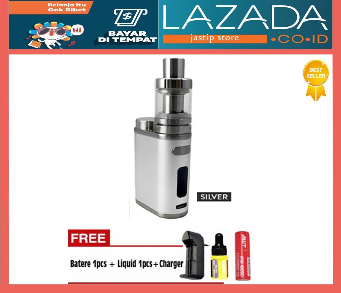 Atomizer Tank Vaporizer Terbaik Istick Pico 75w Vapor Vape Starter Pack The Best Clone Full Black Free Baterai Awt Charger Liquid