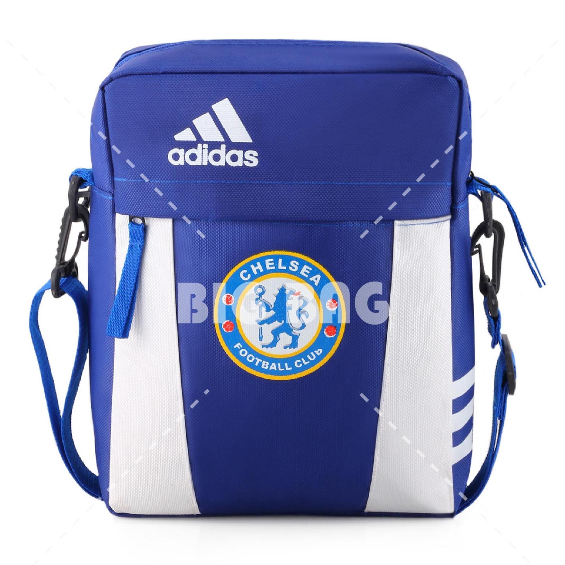 Tas Selempang Adidas Bola Pria Chelsea FC Men Soccer Editions - Blue