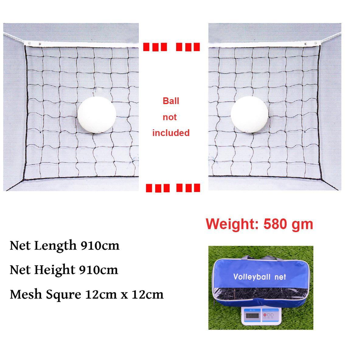 Perlengkapan Olahraga Bola Voli Manset Celana Panjang Net Resmi Turnament Dengan Kawat Kabel Untuk Taman Sekolah Halaman Belakang Pantai