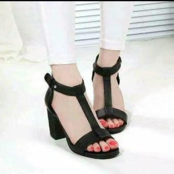 Pencari Harga Lavonder - Calya Pumps Chunky Heels terbaik murah - Hanya Rp37.544