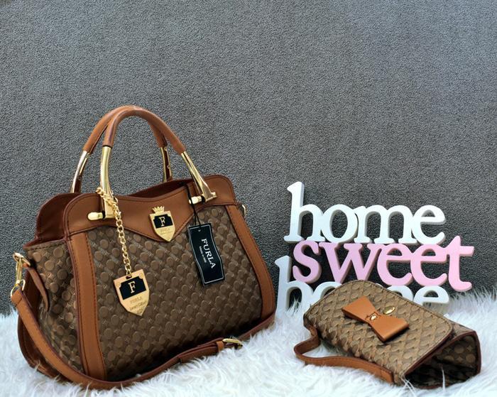 DISKON tas wanita murah/tas wanita branded termurah/TAS FURLA 0990 -0519