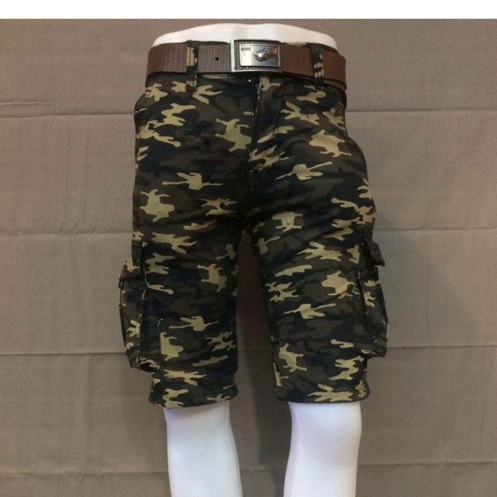 List Harga Celana Loreng Import Terbaru Murah Bulan November 2018 Cargo Pendek Doreng Rgs Store Pria Army Premium