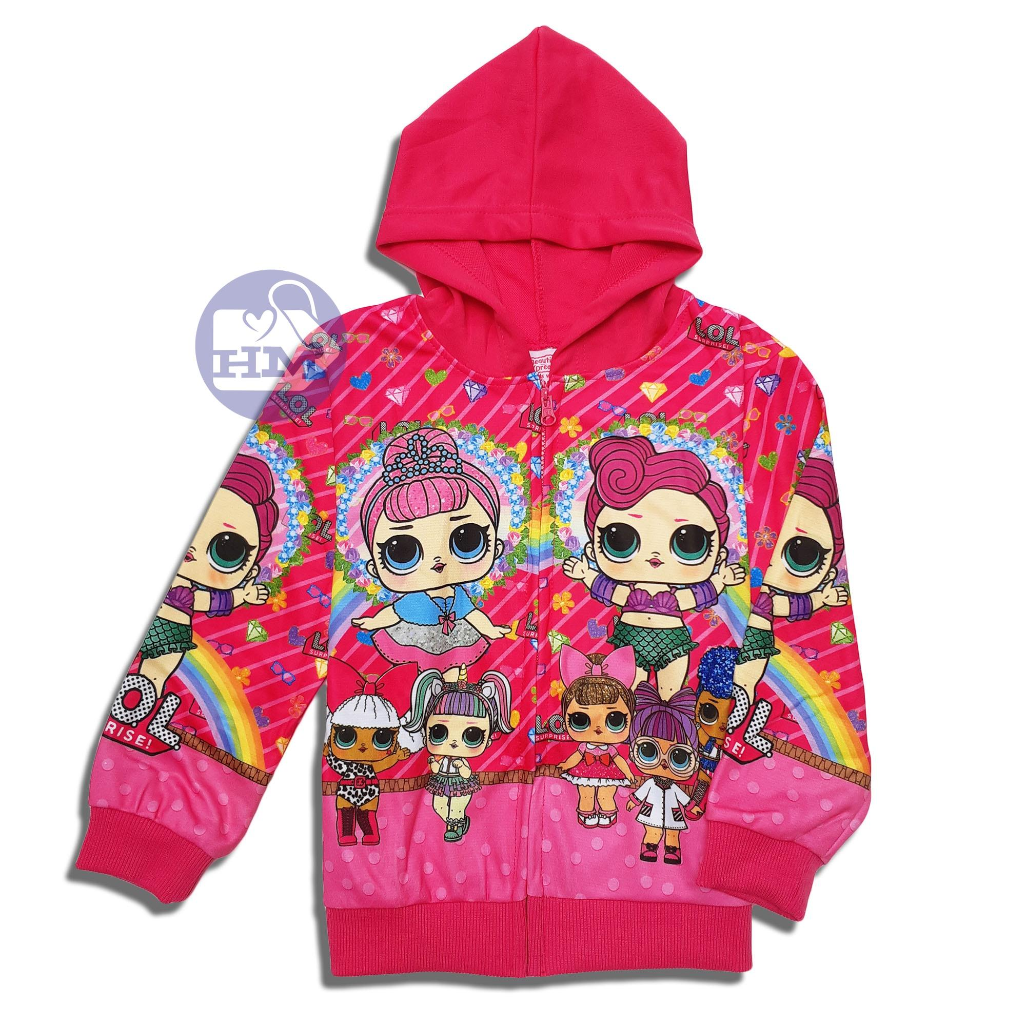 HM Jaket Anak LOL Surprise Jaket Anak Trendy