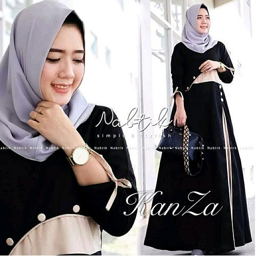 Busana Muslim Kanza Dress Balotelly 26375ca32f