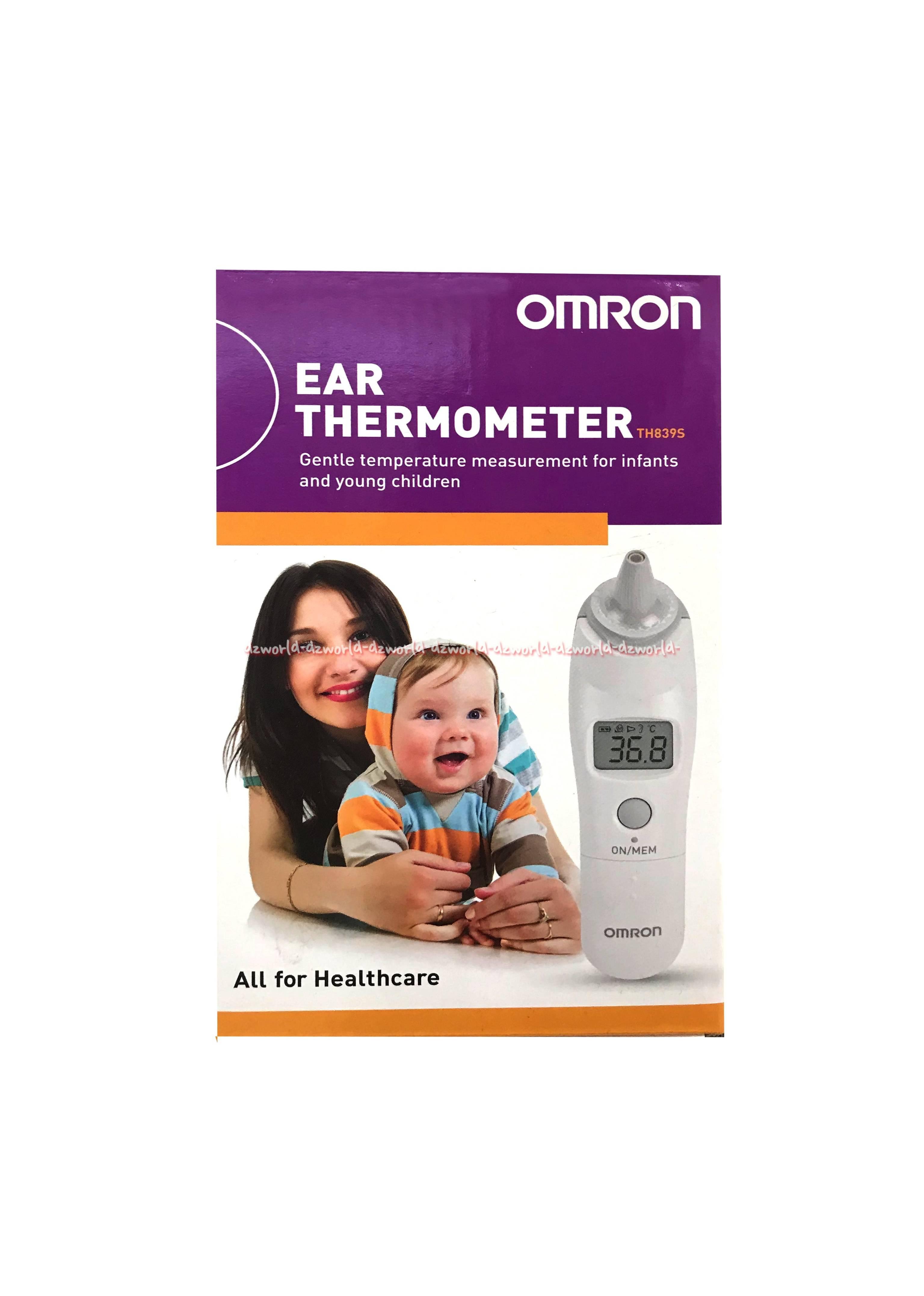 Omron Ear Thermometer TH839S alat pengukur suhu melalui telinga