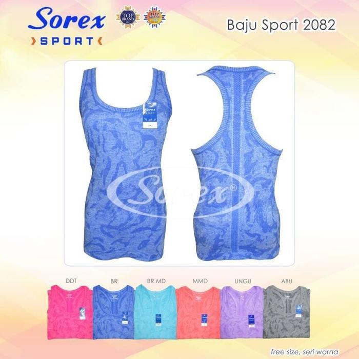 HARGA SPESIAL!!! Kaos Senam Baju Olahraga Singlet Sport Sorex 2082 - ODj7iQ
