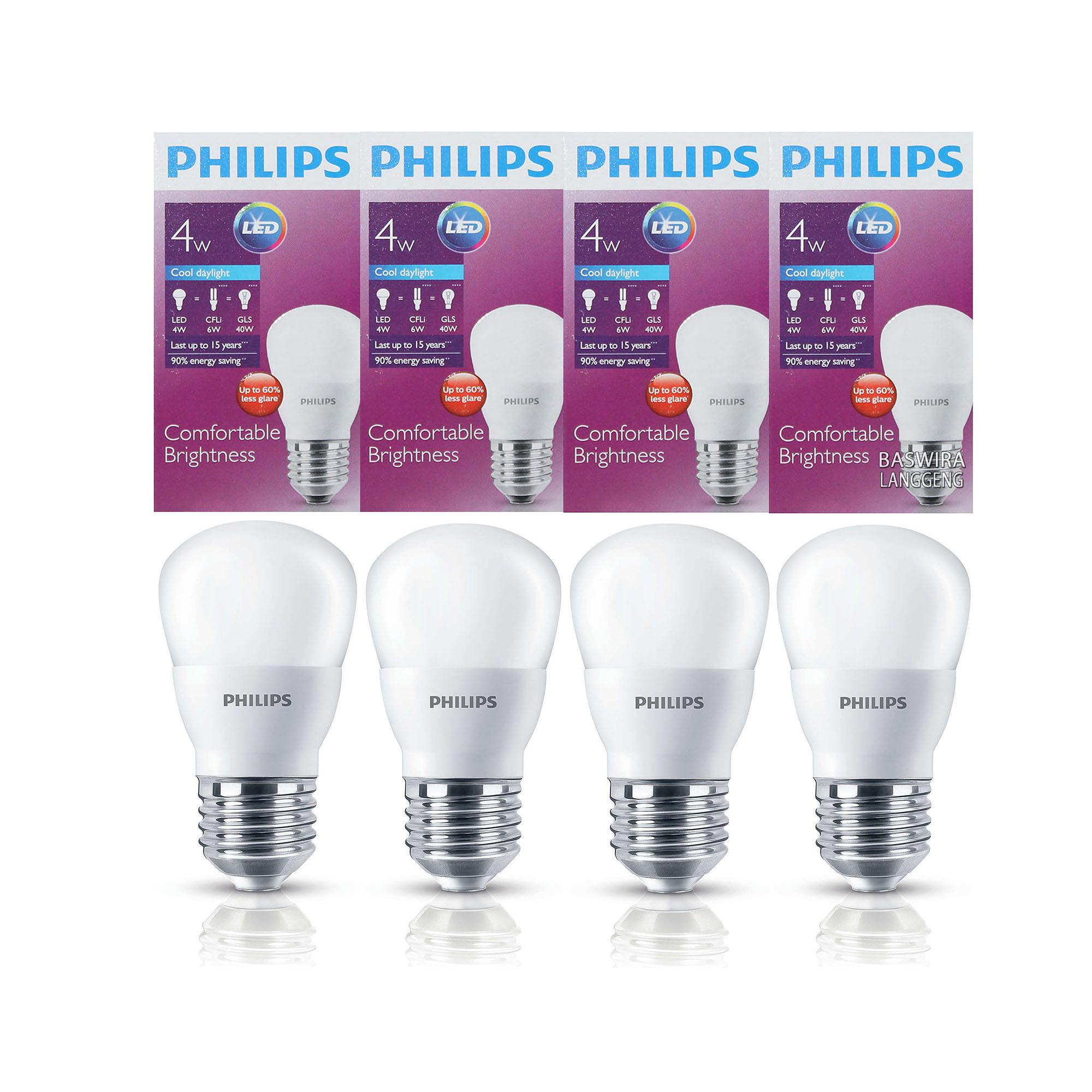 Jual Lampu Bohlam Bulb Buy 1 Get Free Usb Led 5 Watt Emergency Philips 4 W 4wat 4w Putih Paket Pcs