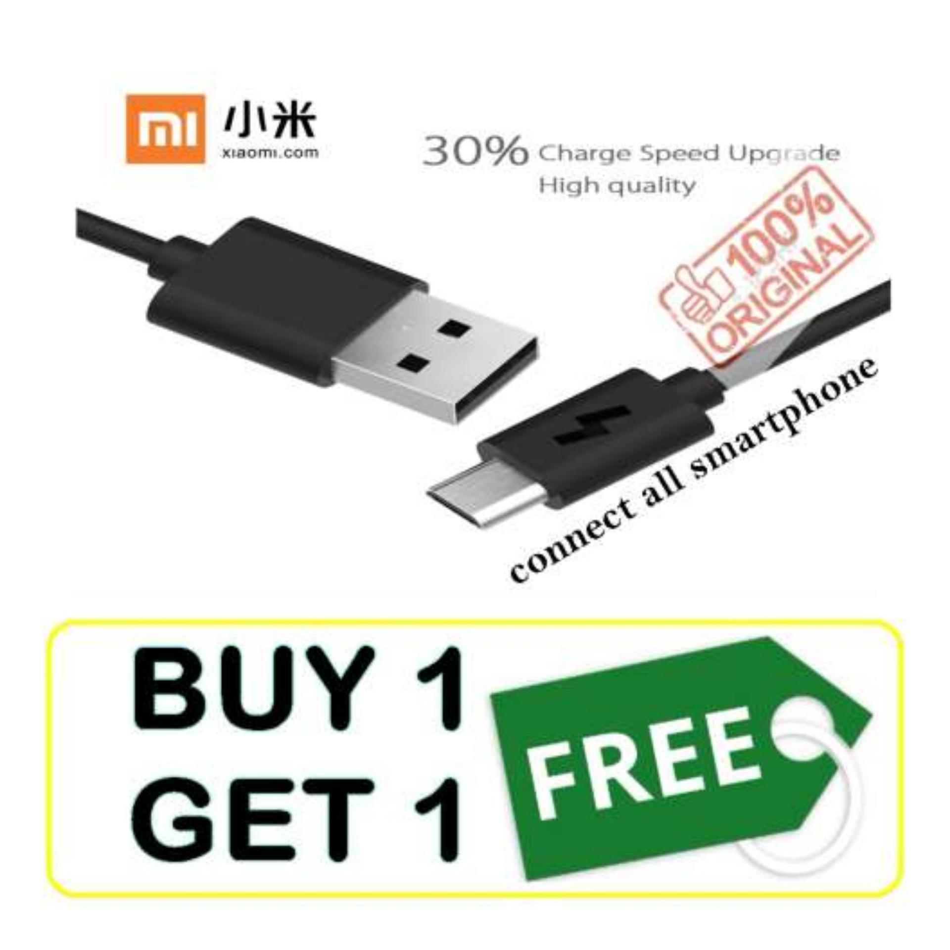 Xiaomi Kabel Data Charger USB Type C 2A Fast Charging Original Xiaomi Mi4c / Mi 4c