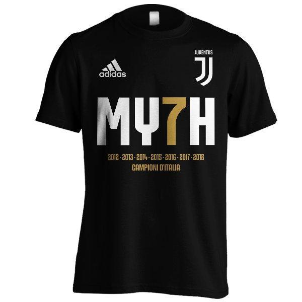 Kaos Juventus MY7H Champions 2018 C01 Hitam Liga Champions 2018 - Wf