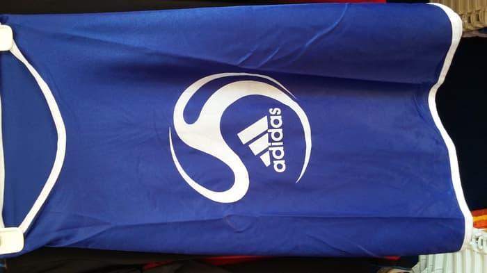 Best Top Seller!! Rompi Futsal  Adidas Biru 1Lusin - ready stock