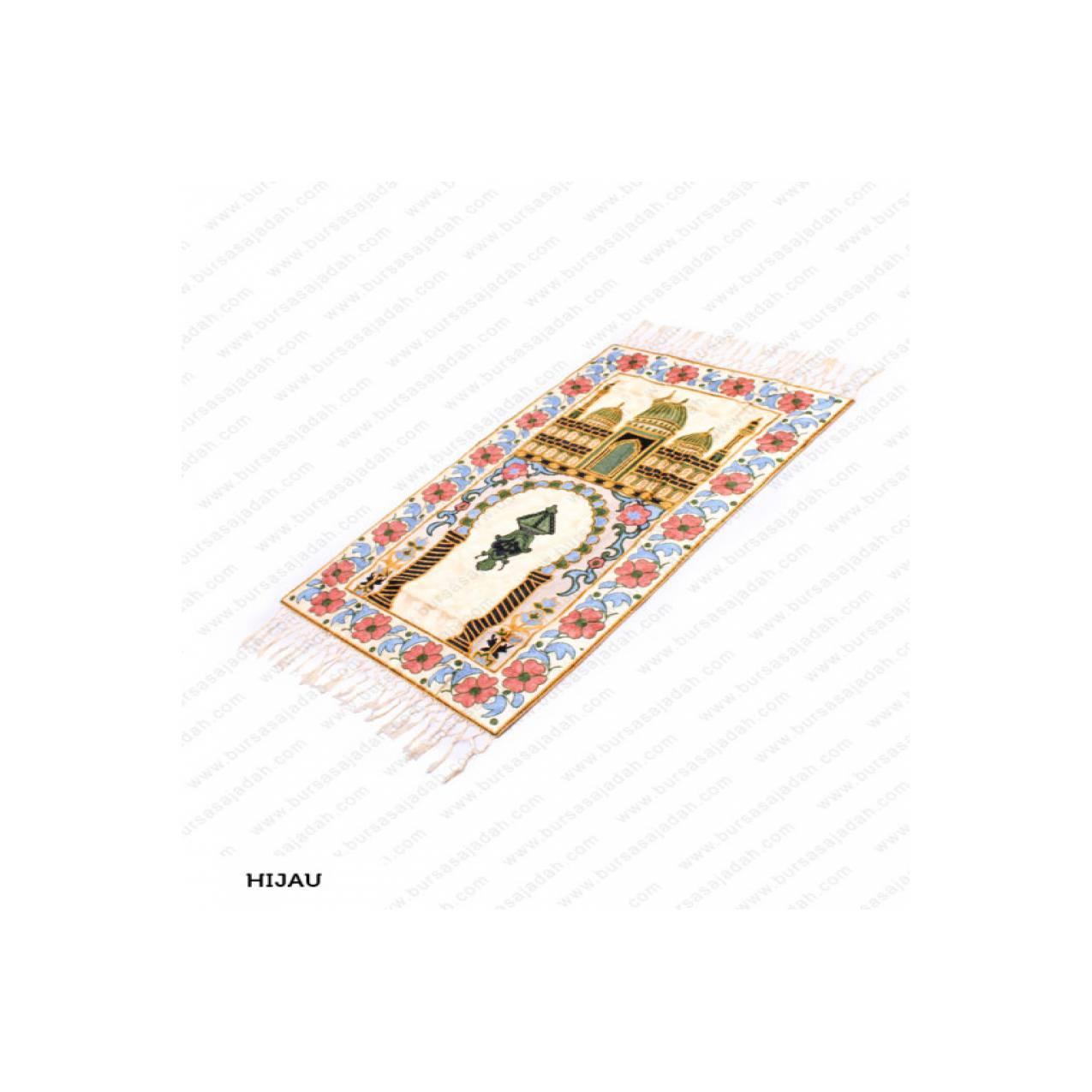 Sajadah Besar Tebal Motif Corak Handmade Import Kashmir EP Mix Premium