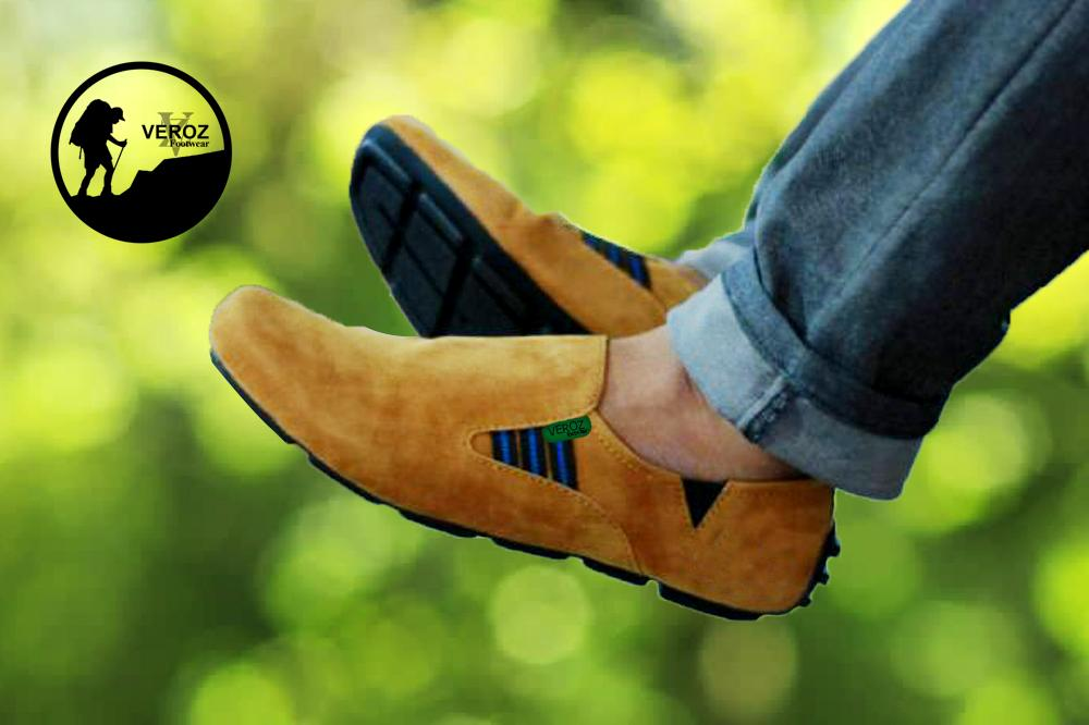 Promo Sepatu Casual Slip On Pria Murah  sepatu kulit kickers slop pantofel  3985fa2cde