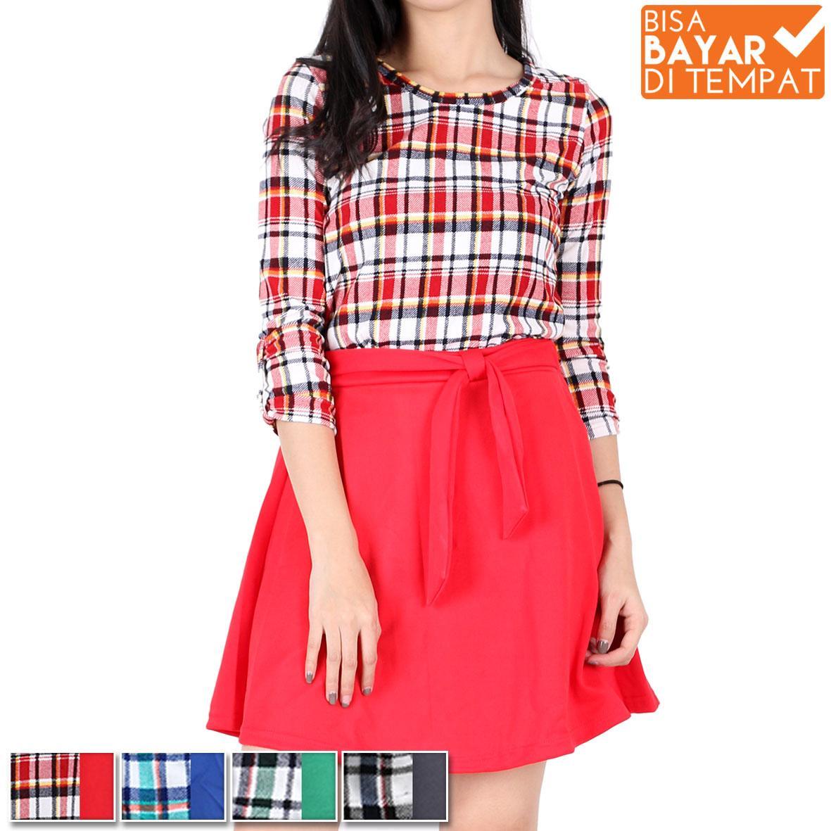 All Item 35K Baju wanita baju remaja baju korea blouse wanita blouse korea rok wanita rok remaja bl