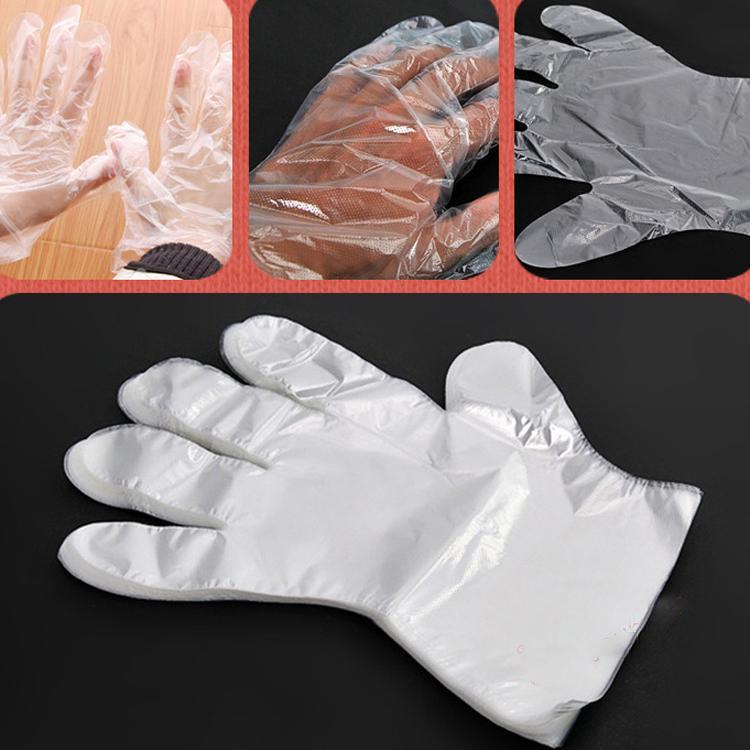 Sarung Plastik Hand Glove Pelindung Tangan Isi 100pcs