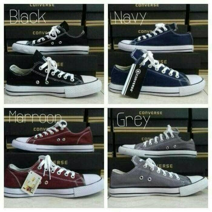 Sepatu Converse All star [HITAM] Hight Plus Box