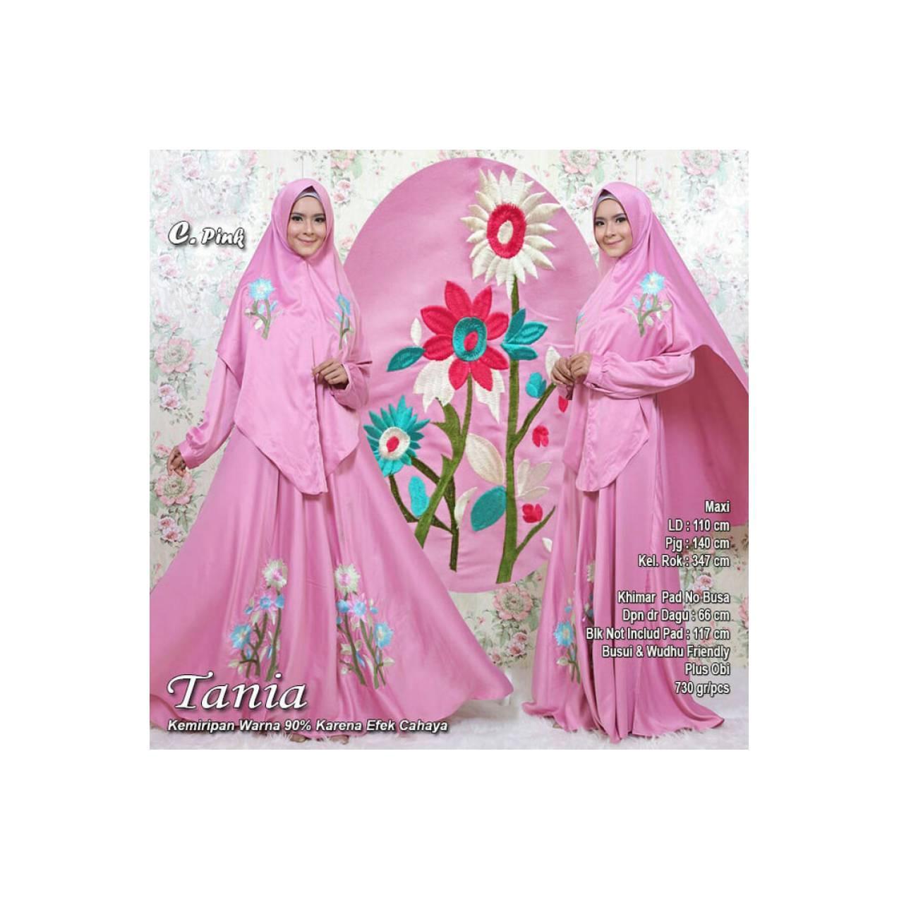 Baju Pengantin Muslimah 118090 TANIA SYARI PINK