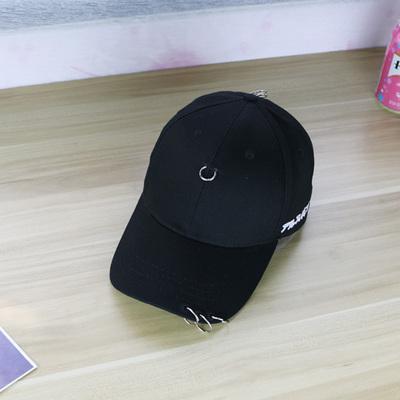 HengSong Baru Pria Wanita Anti Sosial topi topi Baseball Club Hitam. Source · Warna Murni