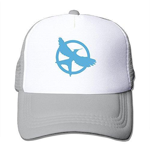 Unisex The Hunger Games Saga Mockingjay Logo Snapback Hat Printing Trucker Hats