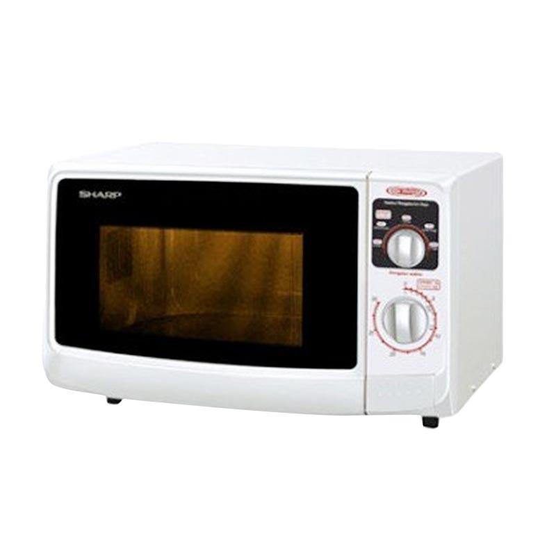 Rekomendasi Seller Sharp R-222Y(W) Microwave Oven - Putih [Low Watt]