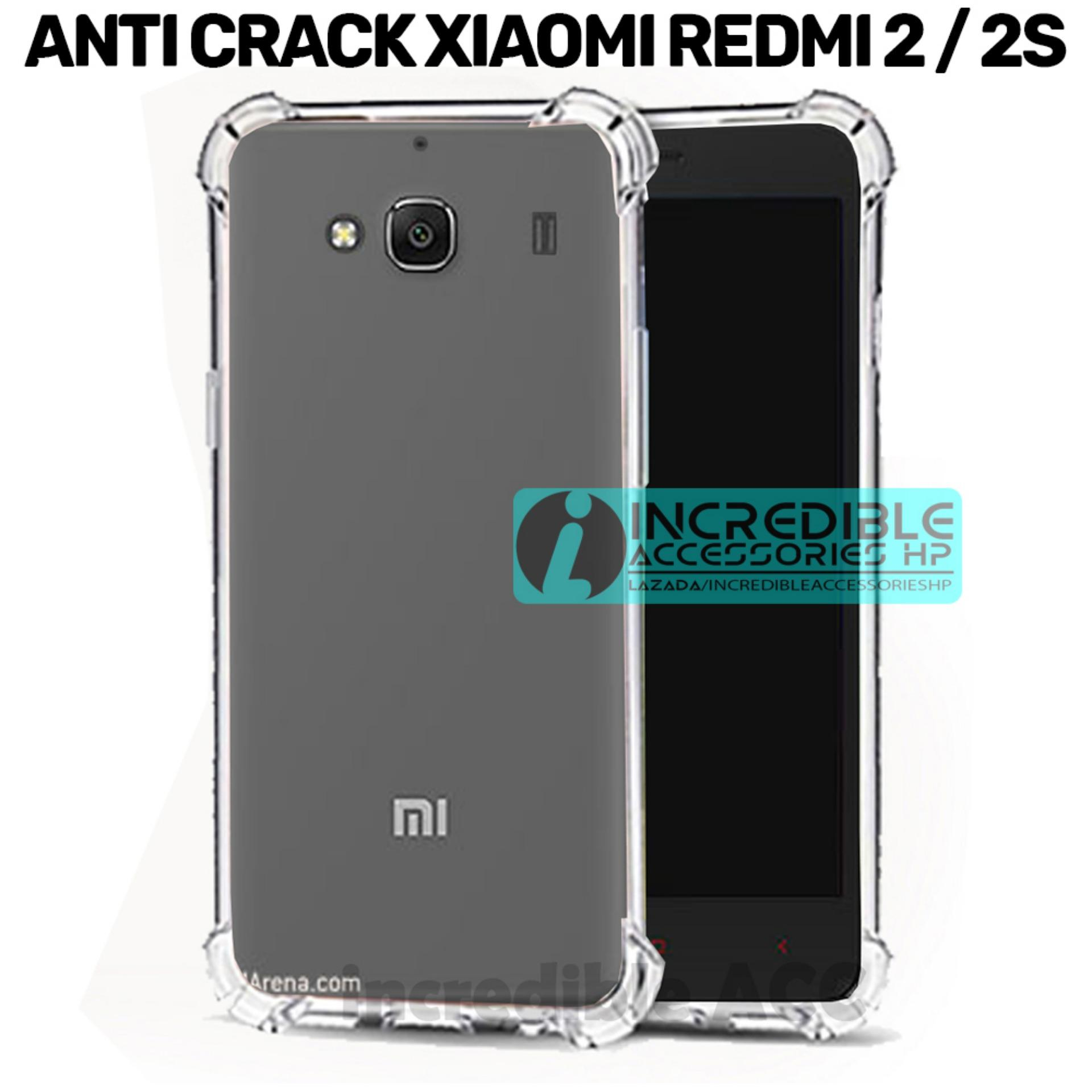 Case Anti Shock / Anti Crack Elegant Softcase  for Xiaomi Redmi 2 / Xiaomi Redmi 2 Prime - White Clear