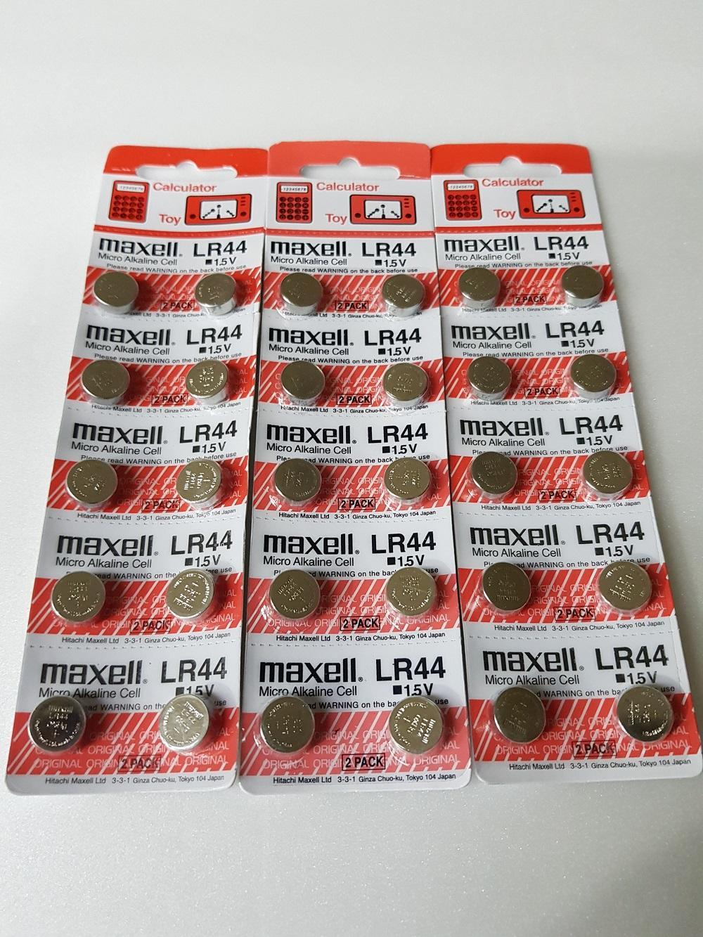 Batery/batre kancing Maxell LR44