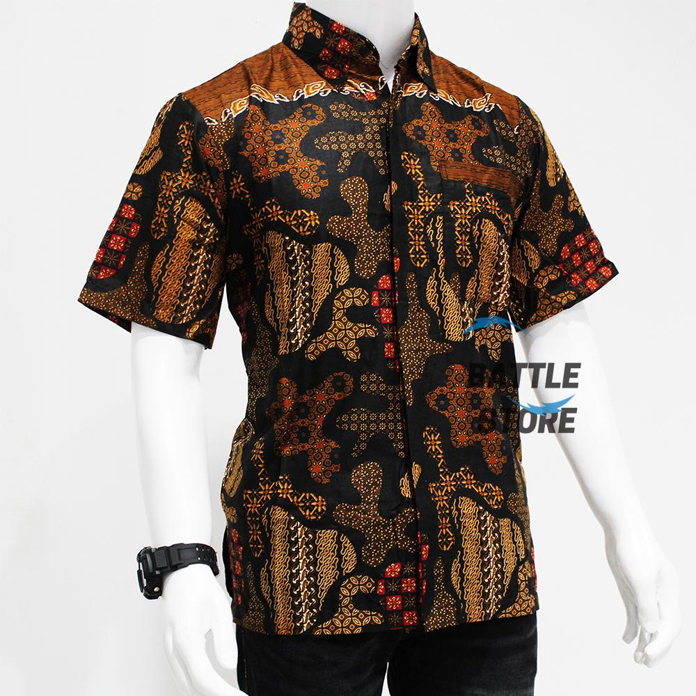 Katalog Harga Model Baju Batik Modern Wanita Lengan Pendek 2018 ... b7349cdd67