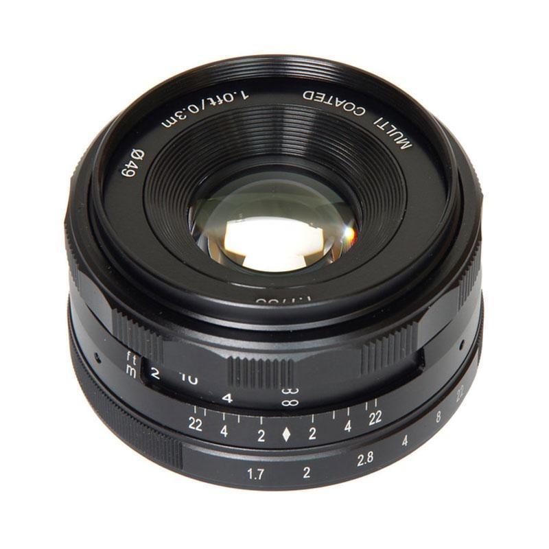 Lensa Meike 35mm F1.7 For Mirrorless Fujifilm X Mount Series