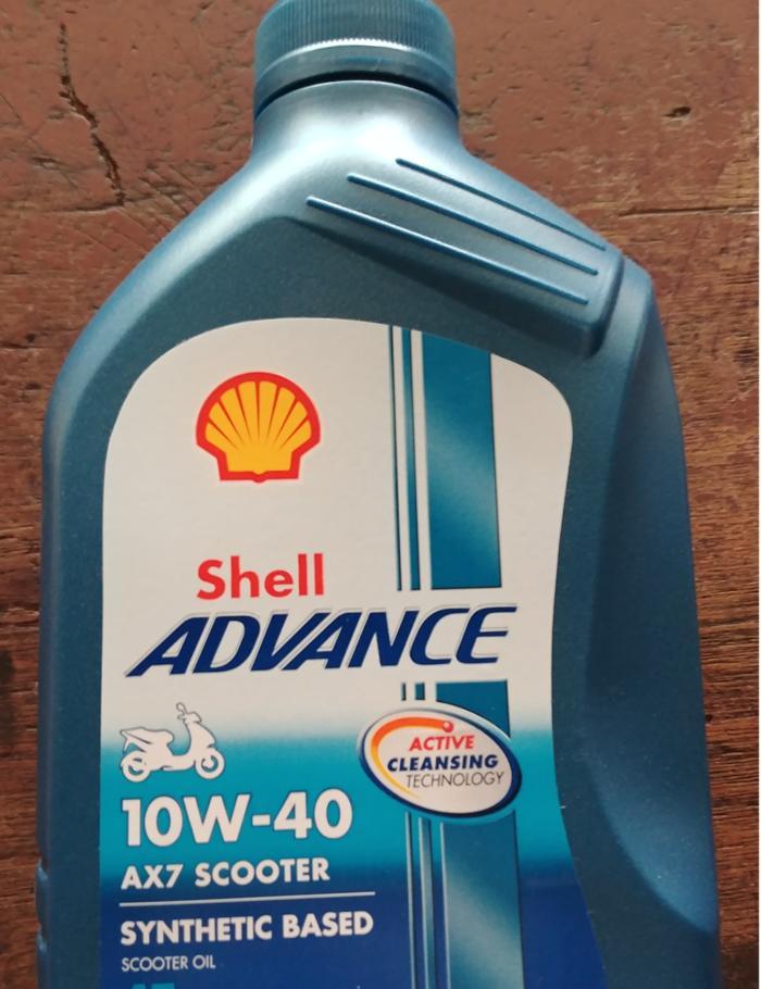 Oli Shell Advance AX7 Matic/Scooter/Matik 0.8L