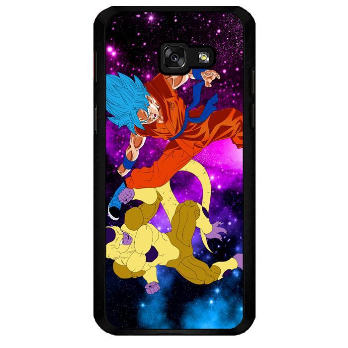 Gold Frieza Vs Goku Super Saiyan God Z2615 Samsung Galaxy A5 2016 Custom Hard Case