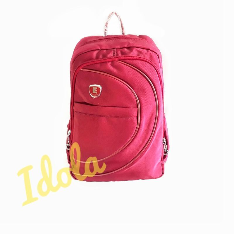 IdolaBags- Tas Ransel Fashion Cewek Branded / Tas Elizabeth Import Original / Backpack Polos Merah
