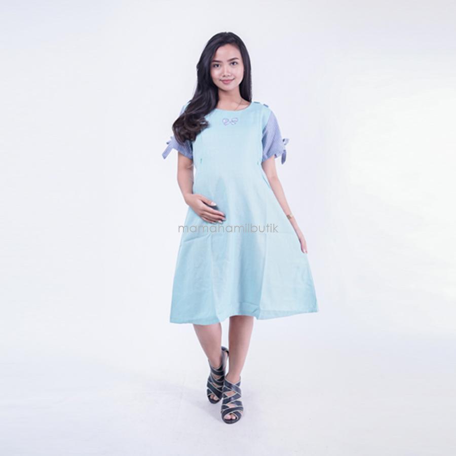 Celana Panjang Hmill Dress Kerja 1206 Biru. Source · Mama Hamil Dress .