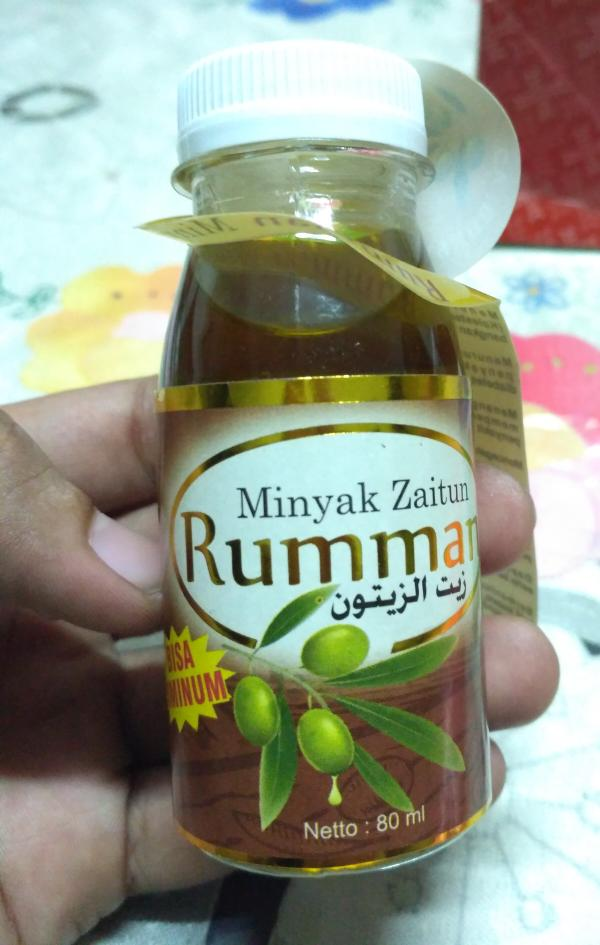 Minyak Zaitun Olive Oil Rumman 80 Ml 80ml Mirip Le Richie Bisa Diminum By Hafshop
