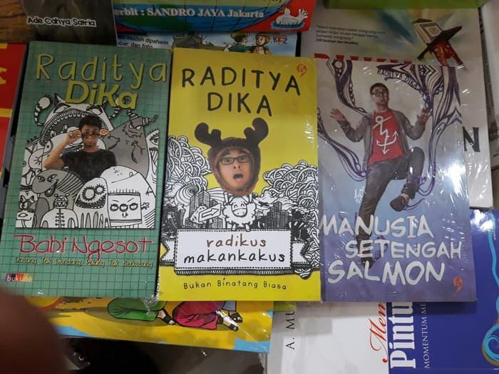 PAKET 3 BUKU RADITYA DIKA gansabook 1169