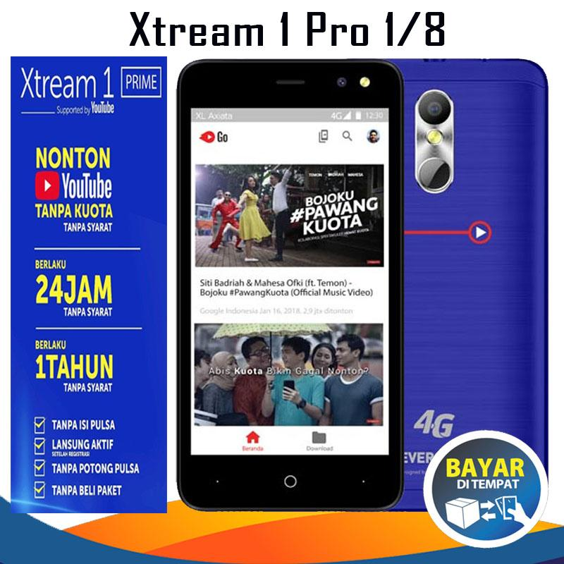 Evercoss Xtream 1 Pro M50 Star - Ram 1/8GB + Gratis Youtube 1 Tahun