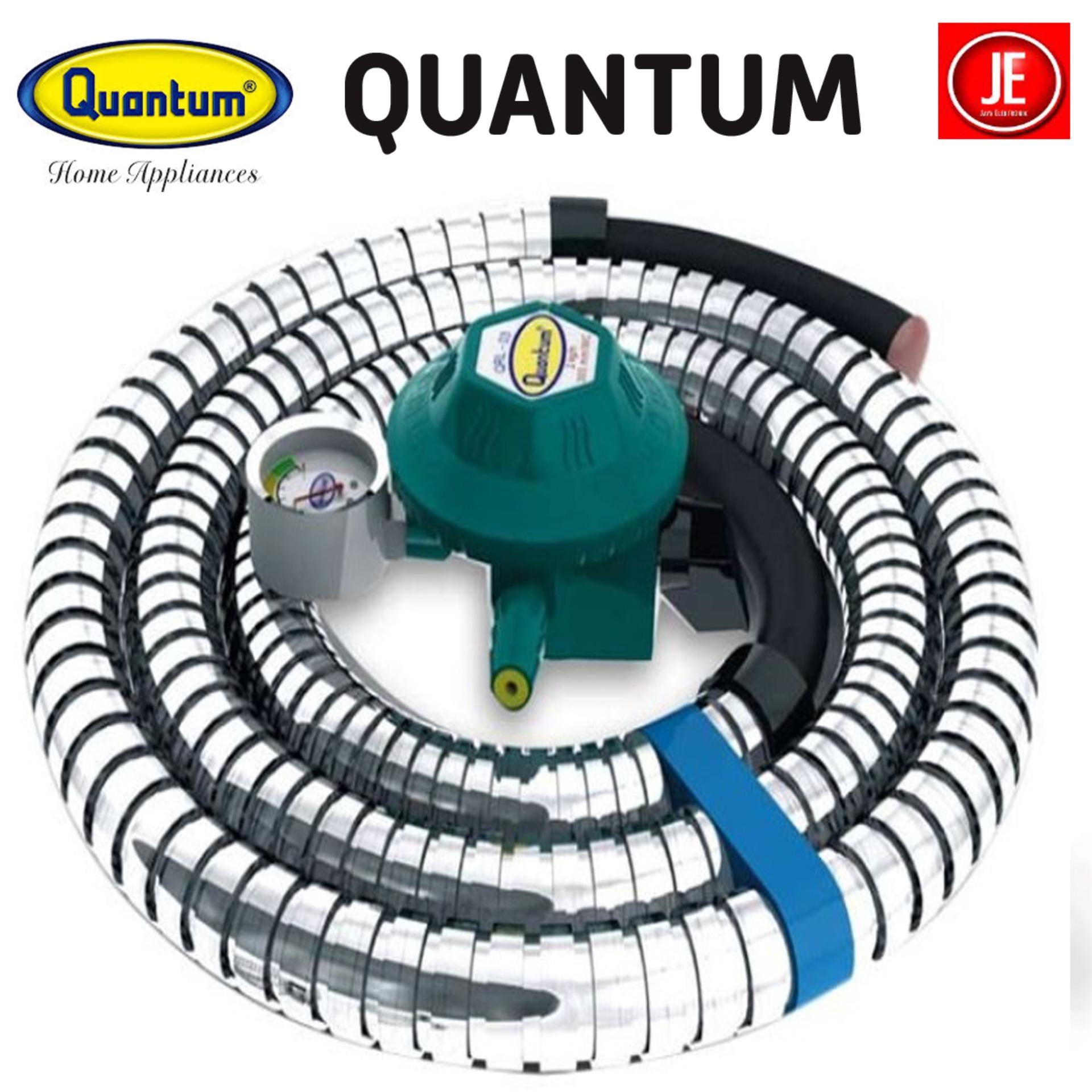 Quantum Regulator Paket Selang Kompor Gas QRL032 GARANSI RESMI 458f81c39a