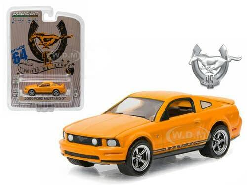 TERLARIS Greenlight 1:64 2009 Ford Mustang GT