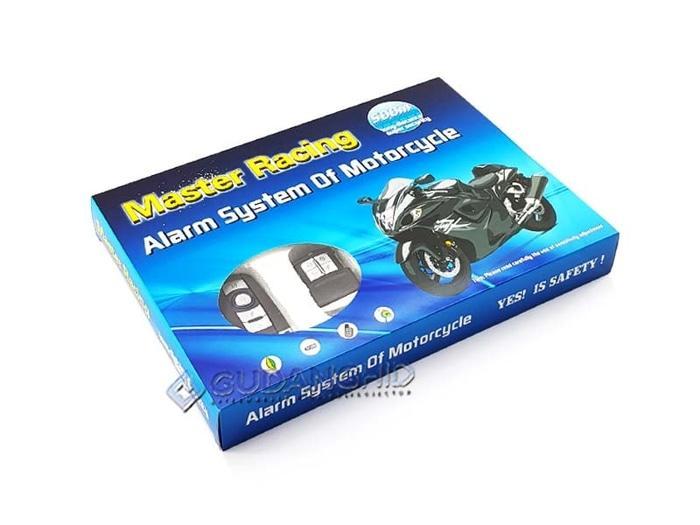 BEST SELLER!!! Alarm Motor Remote Start Starter Master Racing 9V Backup Bergaransi! - 1faOCT
