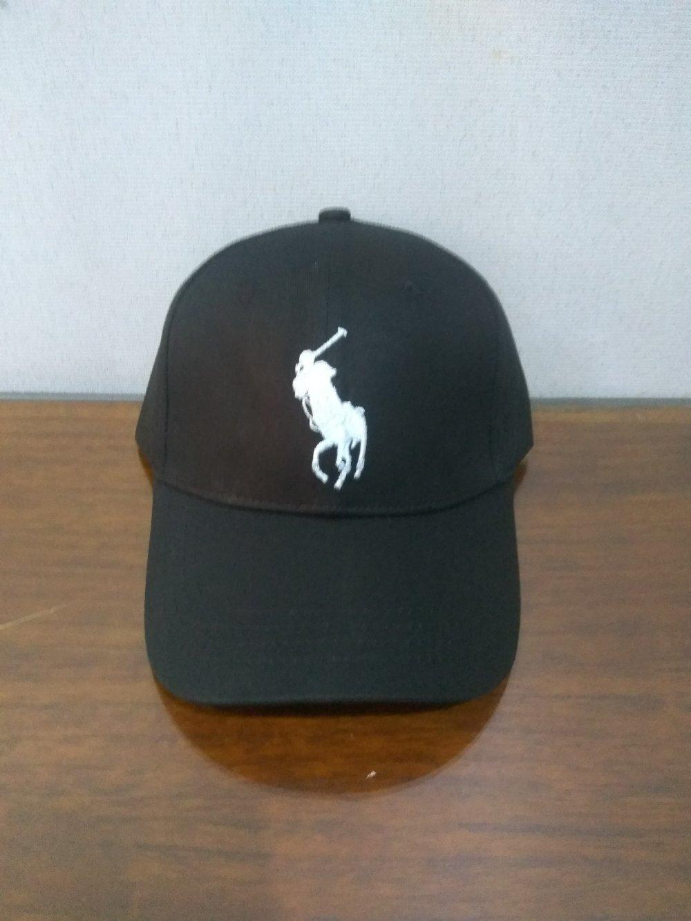 Topi Fashion Distro Polo RL Baseball Import - Black01 di lapak Topi KanBaru  topikanbaru fe90295035