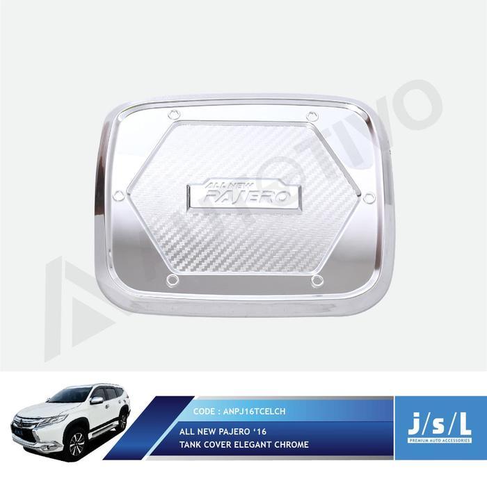 All New Pajero Sport Tank Cover Elegant Chrome JSL