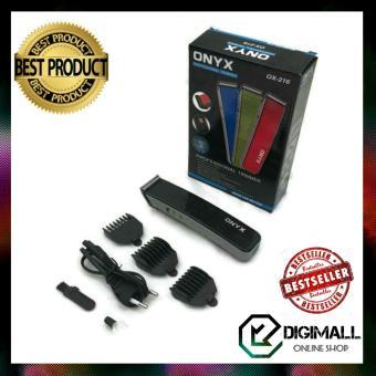 Harga preferensial Onyx Alat Cukur / Pencukur Kumis Jenggot Dan Rambut Multifungsi / Nova Professional Trimmer