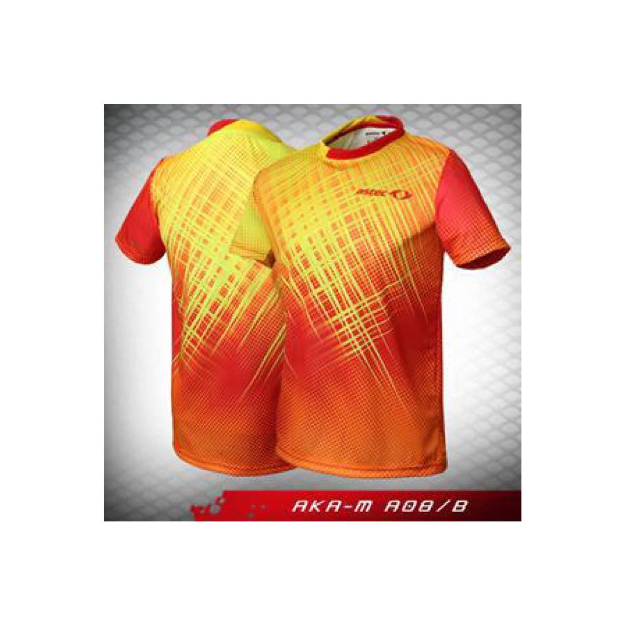 Jual Baju Badminton Bulutangkis Astec AKA M A08/B Baru | Baju Kaos B