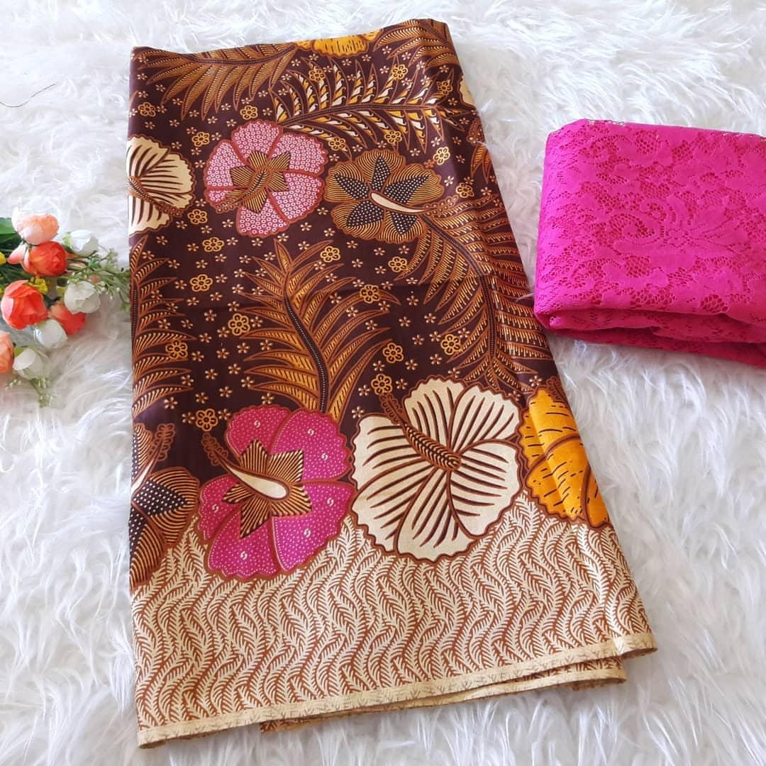 cherrykebaya - setelan katun batik talasso dan brokat lembaran bahan kebaya pengantin kebaya pesta kebaya wisuda kebaya modern