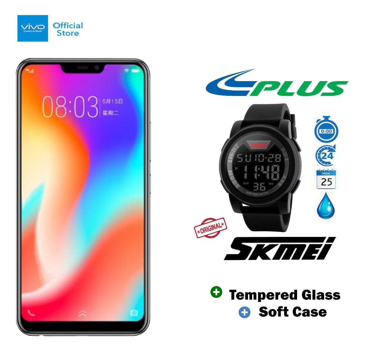 Vivo Y83 4/32GB - Black Plus SKMEI 1142A